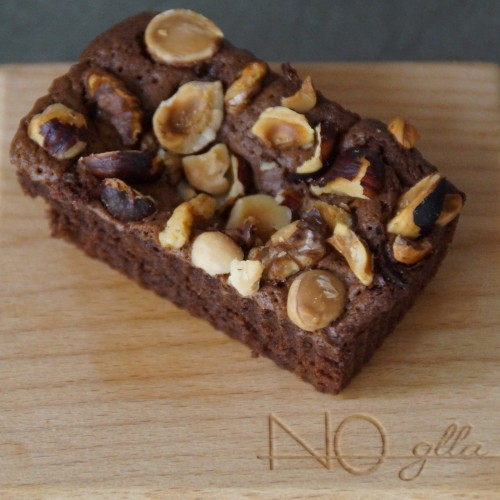Triple Nut Brownie