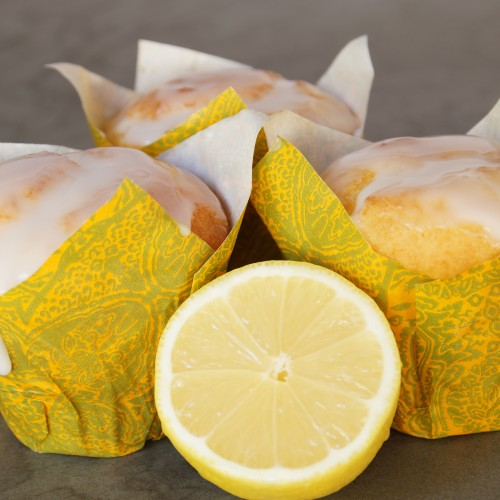 Fresh Lemon Muffin